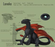 Leneke reference sheet by suthnmeh