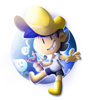 Loy: Being a complete D' to ghosts! by SynDuo