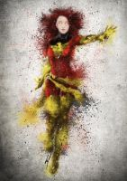 Jean Grey / Dark Phoenix by medalXD