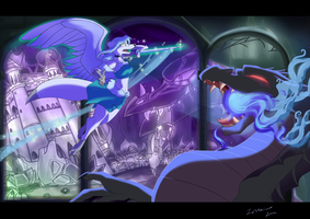 Happily Ever After in Blues by Lyritwolf