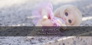 Spring in the City Cover by MySweetQueen-Dolls