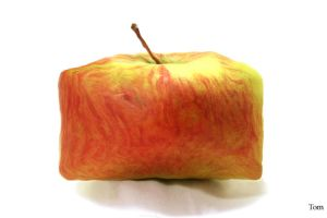 Square Apple by tkrewson
