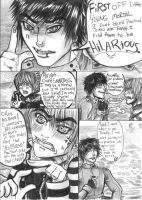 pg.109 'Playful' Banter and a cat submarine. by AngryMarshmallow