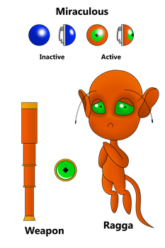 Ragga the Tarsier Kwami by VincenttheCrow