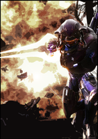 Halo REACH Art by Quarion-Design