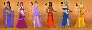 Costume designs 8 by Berende
