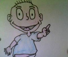 My Drawing of Tommy Pickles by LamePie