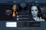 Holly Marie Combs - Website by dreamswoman