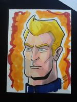 Johnny Storm by sirandal