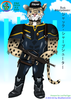 Jack Sharpshooter - Police Jaguar of WCPD by BlueMario1016
