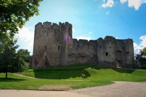 Chepstow Castle by Rovanite