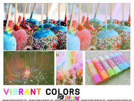 Vibrant Colors PSD Coloring by Laaloadictedphoto