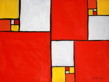Mondrian Tribute by hyperetic