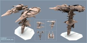 Sendercorp  Gunship ARMEL by PINARCI