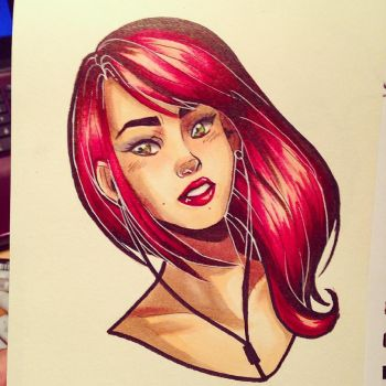 Quick Copic Practice by LilyPad2307