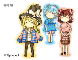 Studio Touhou by NightmaresInChibi