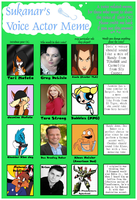 Voice Actor Meme, Interpreted by MFB, Part 2 by MysteryFanBoy718