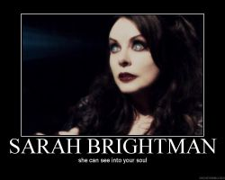 Sarah Brightman poster by PhantomisErik
