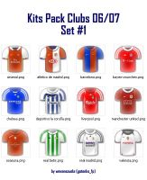Kits Pack Clubs 06-07 Set No.1 by wevenezuela