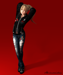 DOA Meshmod - Marie Rose Shelby Bomber (DL) by YumieDolly
