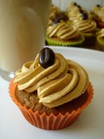 Coffee Cupcakes by Jezebel-Jay