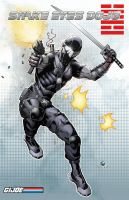 Snake Eyes - GI Joe by Carl-Riley-Art