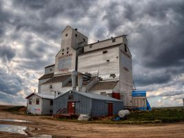 Consul Grain Elevator by Neil-Macleod