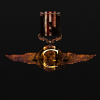 Army medal rusted by Star-Graphics
