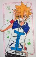 KHR : Giotto in the Summer by Dark0Light