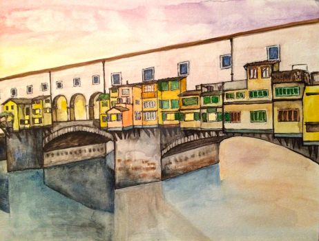 pontoVecchio by kitschpainter