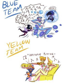 Teamwork is gold by Deltamimi