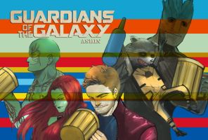 guardians of galaxy by milkisall
