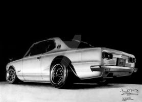 Skyline 1972 by VictoR38