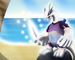 Contest Entry: Silver Feather ( Lugia TF ) by DarkDragon-Phoenix