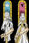 Mirian and Mirana - bookmark by lilka23