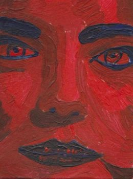 Red and Blue (ATC) by Bloody-Lady-of-Csejt