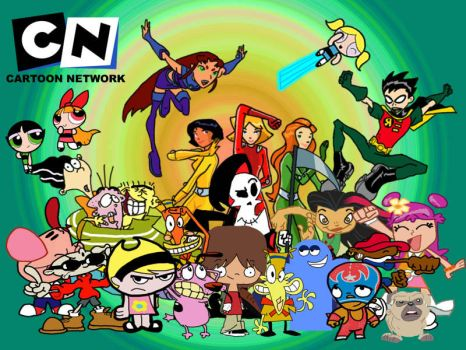 The Cartoon Network Collection by AJD08
