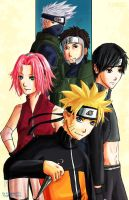 Naruto Team Seven by KUNGPOW333