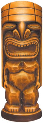 Tiki transparent PNG by AbsurdWordPreferred