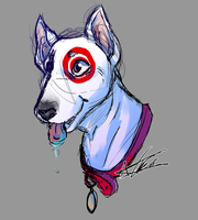 Eely Dog by ToLoveaKiwi