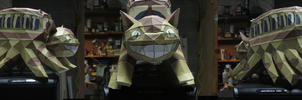 CatBus Papercraft by InkFire-RainbowPrism