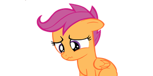 Sad Scootaloo by Rad-Girl