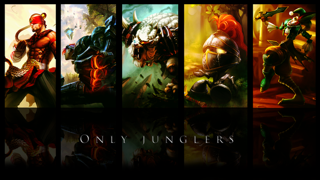 My junglers from LoL by KeVasFul