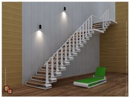 staircase - The nail cutter by creativegenie