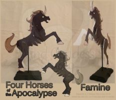 Horses of the Apocalypse: Famine by StrayaObscura
