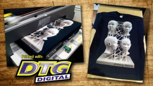 Direct To Garment Printing by AnthonyRalano