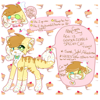 | 2014 Cupcake Sunny Reference Sheet | by snickIett