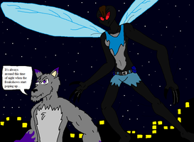 The Wolf and the Fly by Arrowman64