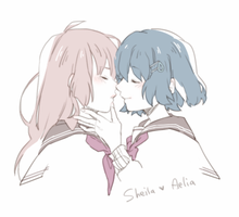 MAGE - Sheila x Aelia by creamboys