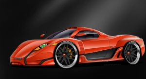 Quimera Hiperion LM-S - Orange by MDominy